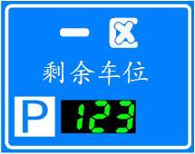 manbetx官网下载智慧停车场剩余车位显示屏