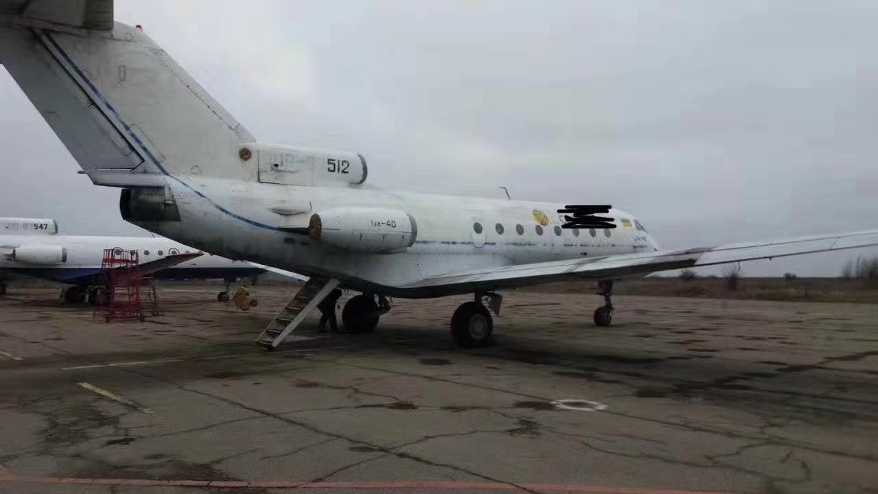 旧飞机出售 雅克-40