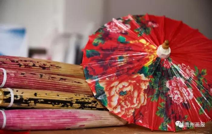 赤水丙安古镇油纸伞