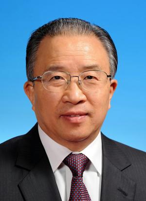 贵州印江书法之乡的中央大员 戴秉国 图