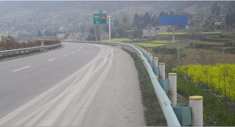杭瑞高速遵义到金沙段马蹄收费站2公里高杆广告牌