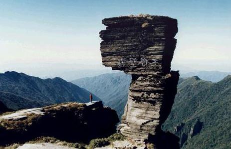 梵净山标志性风景——蘑菇石