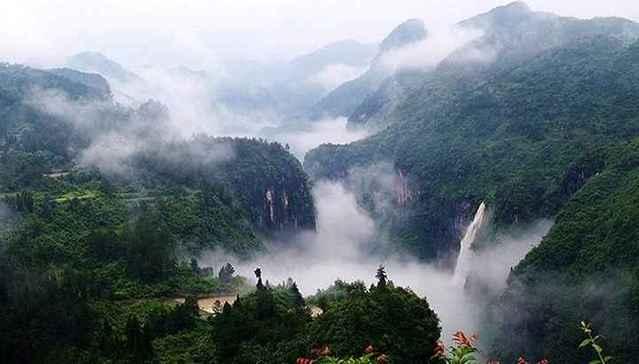 铜仁大峡谷旅游风景区介绍(图)